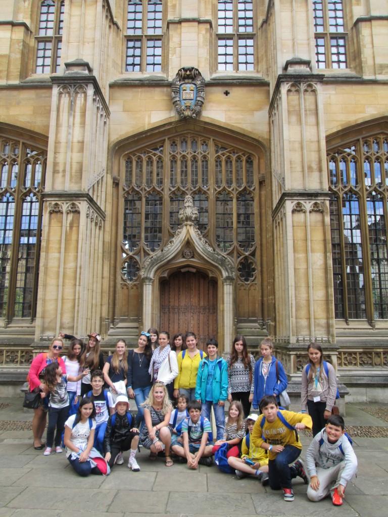 tabara engleza Clifton College, Bristol, Anglia