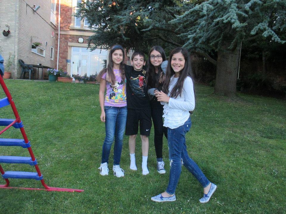 Tabara engleza Anglia - grup Mirunette