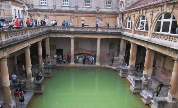Tabara engleza Anglia, Clifton - excursie Bath