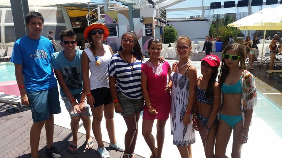 Tabara engleza Malta - activitati piscina