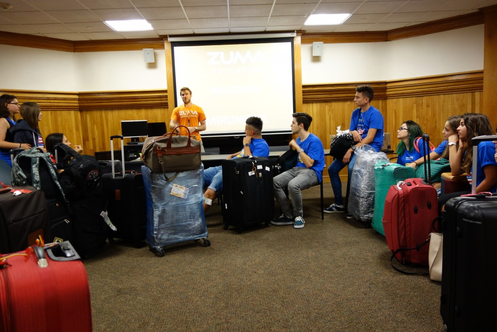 Tabara de grup limba Engleza - Fordham University, New York