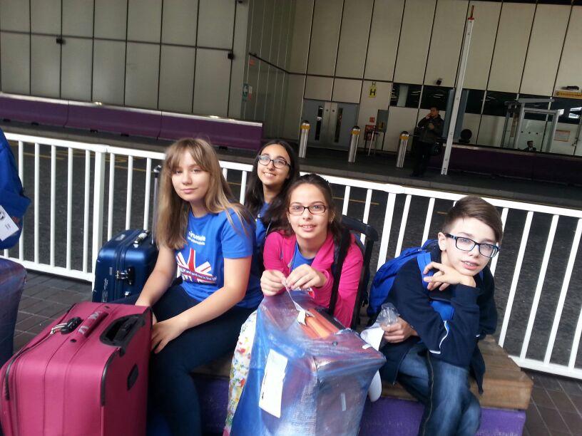 Tabara engleza Oxford, Anglia - aeroport