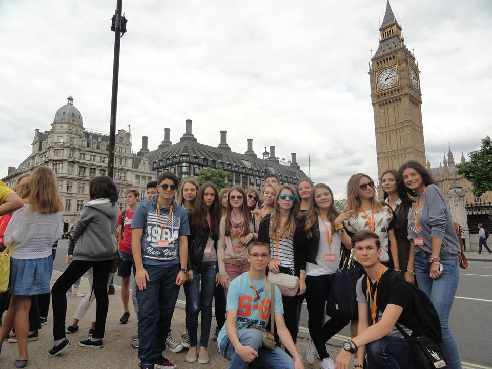 Tabara engleza Londra, Anglia - Big Ben