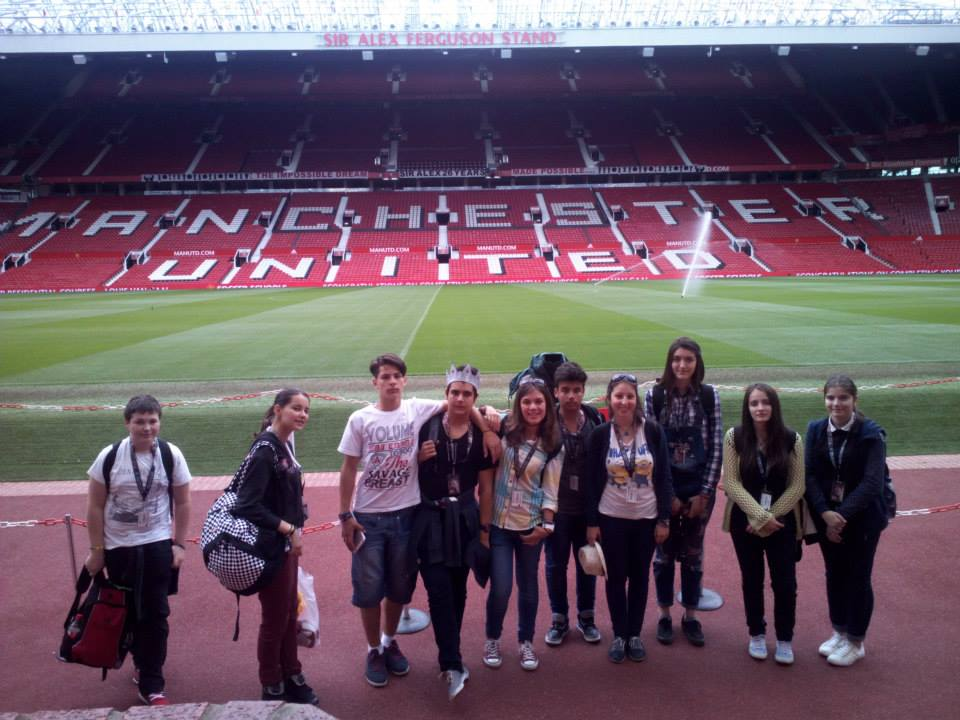 Tabara engleza 3 Capitale, UK - excursii stadion