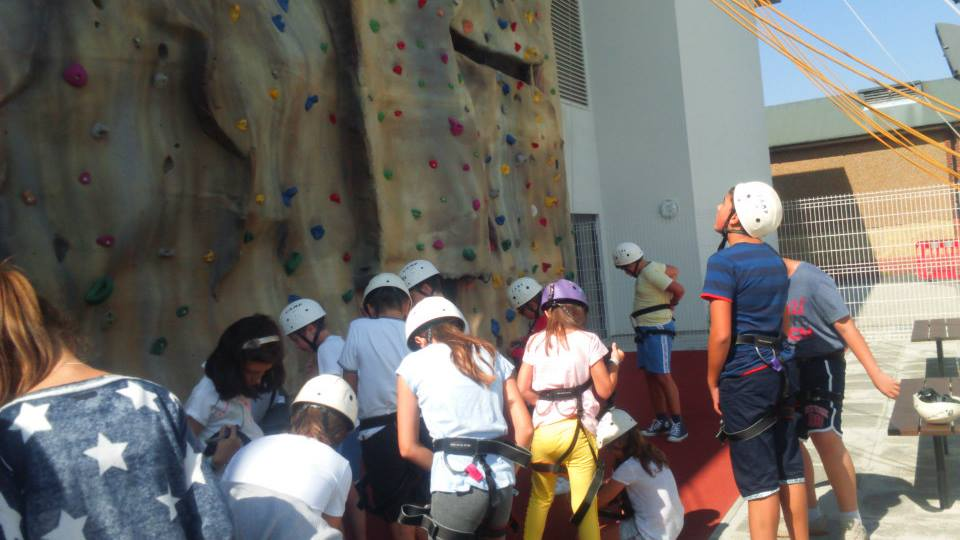 Tabara engleza Anglia, Duke of York - rock climbing