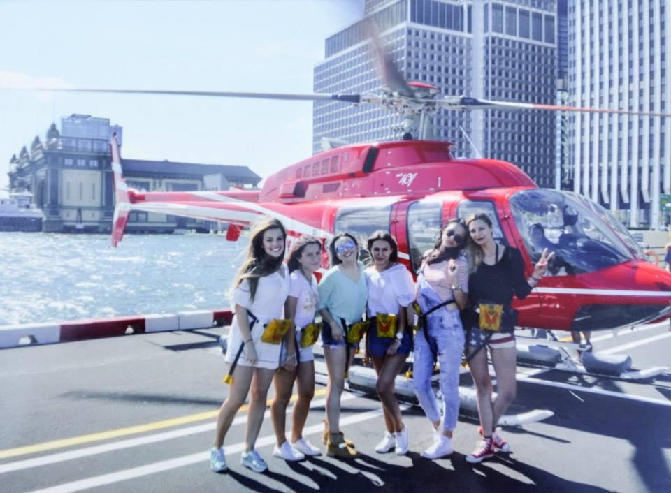 Tabara New York, SUA - zbor cu elicopterul