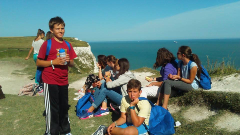 Tabara engleza Anglia, Duke of York - excursii White Cliffs