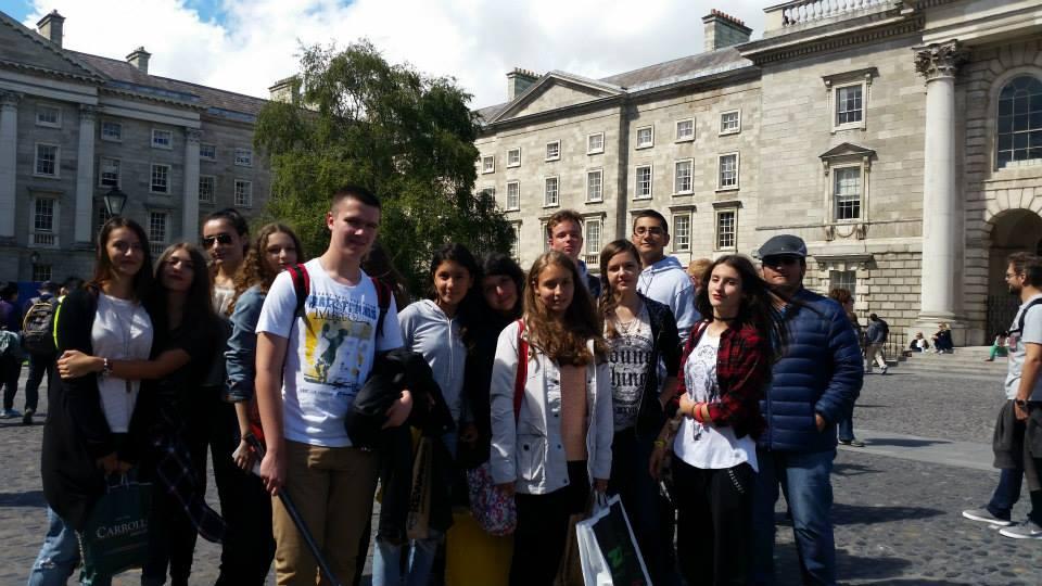 Tabara engleza Dublin - Marea Britanie