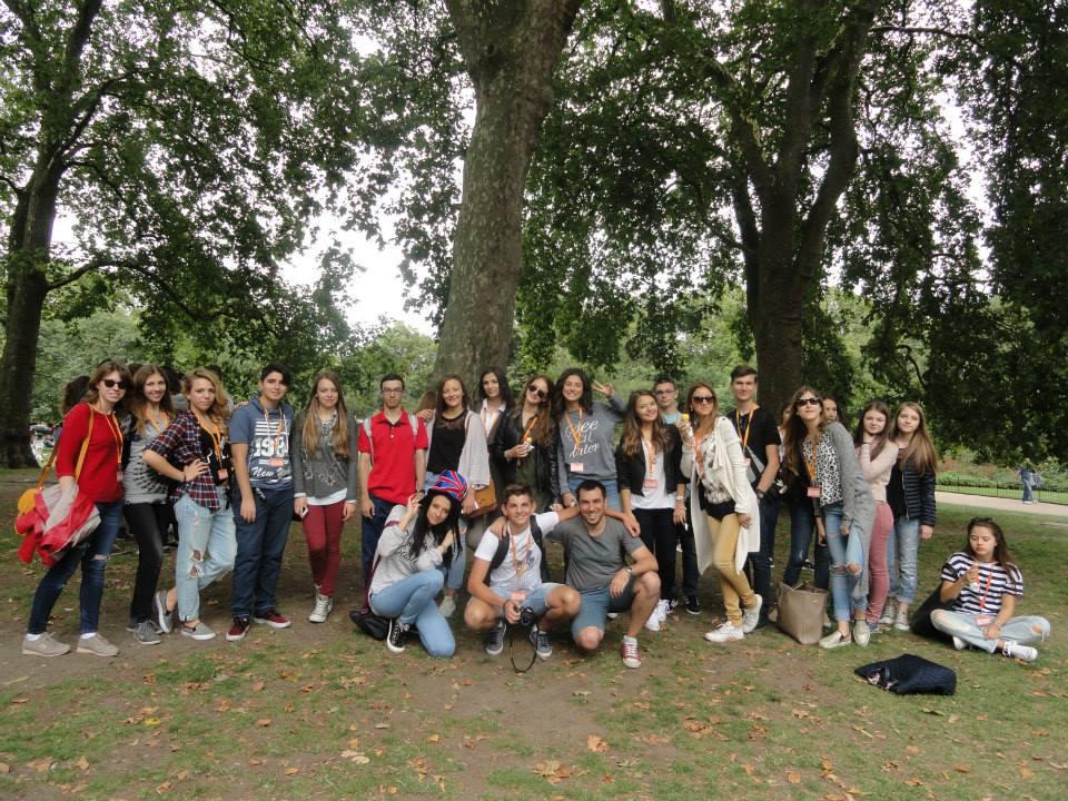 Tabara engleza Londra, Anglia - excursii