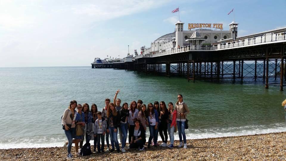 Tabara engleza Londra, Anglia - Brighton Pier