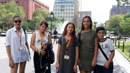 Tabara grup lb. Engleza, Fordham University, New York USA 17-31 iul - Mirunette 2016