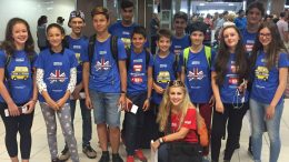 Tabara grup lb. Engleza, Oxford Brookes University 31 iulie - 14 august,Mirunette 2016 (aeroport)