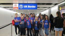 Tabara grup lb. Engleza, Ashford School UK 24iul-07 aug Mirunette 2016 (Aeroport/Arrival)