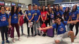 Tabara grup lb. Engleza, Cal State University, Los Angeles 28 iul -11 aug- Mirunette 2016 (Aeroport)