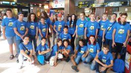 Tabara grup lb. Germana Bad Schussenried Germania 21 aug-03 sep 2016 Mirunette (aeroport)