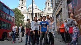 Tabara grup lb. Engleza Londra UCL 14-28 august 2016 Mirunette