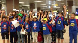 Tabara grup lb. Engleza, Bromsgrove School 02 - 16 august, Mirunette 2016 (aeroport)