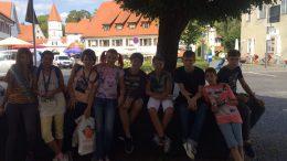 Tabara grup lb. Germana Bad Schussenried Germania 21 aug-03 sep 2016 Mirunette