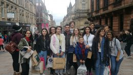 Tabara Mirunette Scotia 2017 - excursie Glasgow