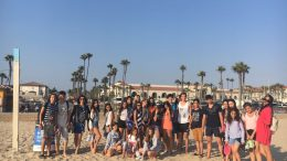 Tabara de Engleza Cal State Univ, LA 04-18 Iul 2017 Mirunette