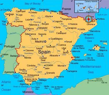 Harta Universitati Locatii Spania Blog Mirunette