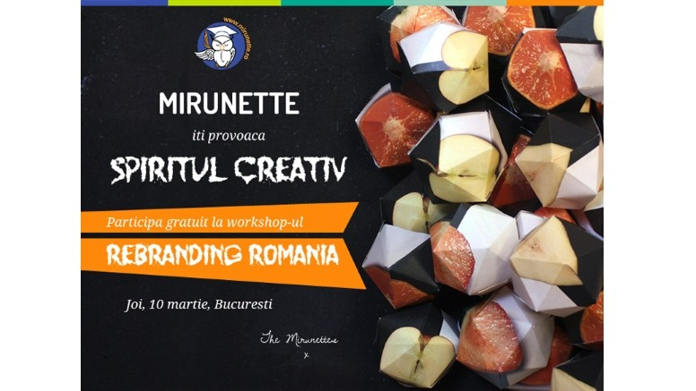 Workshop gratuit Mirunette.ro