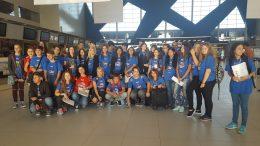 Tabara grup lb. Engleza, Fort Lauderdale, Miami, 07 - 20 august, Mirunette 2016 (aeroport)