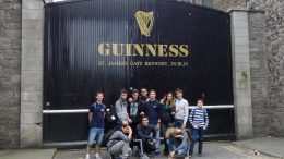 Tabara Lb Engleza Dublin Irlanda, Guinness Storehouse