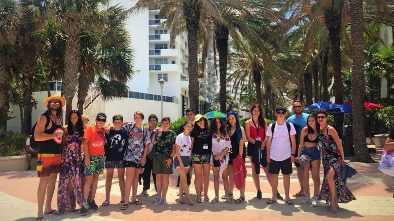 Tabara de grup limba engleza - Fort Lauderdale, Miami, America