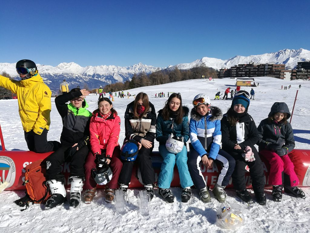 tabara de ski din Elvetia Verbier 2019