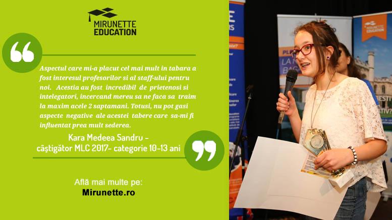 Mirunette Language Competition 2017