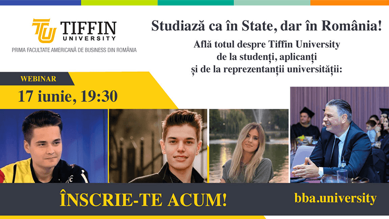 licenta americana in romania cu tiffin university