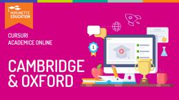 Cursurile de perfectionare Oxford/Cambridge – Invata direct de la maestri!