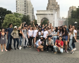 tabara de grup limba engleza fordham university east coast tour new york niagara falls washington philadelphia.JPG