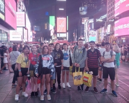 Tabara de grup limba Engleza - Rider University - excursie la Washington si musical pe Broadway - New York, SUA