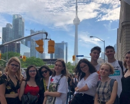 Tabara de grup limba Engleza - Sheridan College - excursie la Niagara Falls si Montreal - Toronto, Canada
