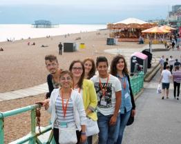 Tabara de grup limba Engleza - University of Brighton - Brighton, Anglia