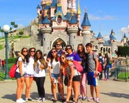 Tabara grup limba Franceza - excursie optionala la Disneyland - Paris, Franta