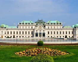 Tabara limba Germana - Belvedere Palace, Viena