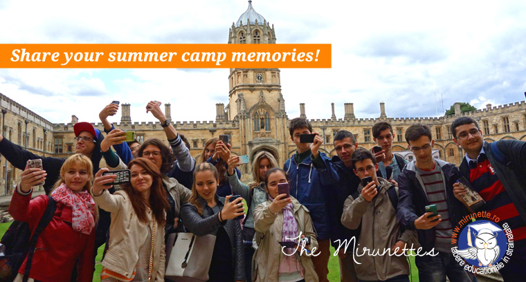 Concurs - Share your summer camp memories!