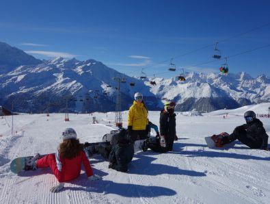 Video realizat in tabara de ski & snowboard - Verbier, Elvetia